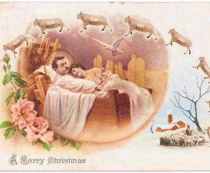 Slaapproblemen, kerstbijlage Brabants Dagblad