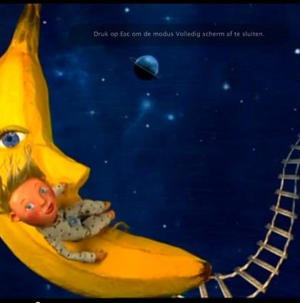 trappetje naar de maan