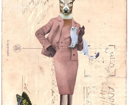 Hert-vrouw