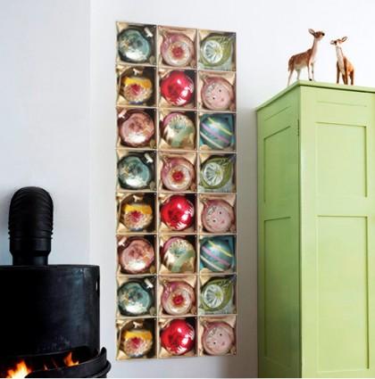 Ixxi – Vintage kerstballen doos