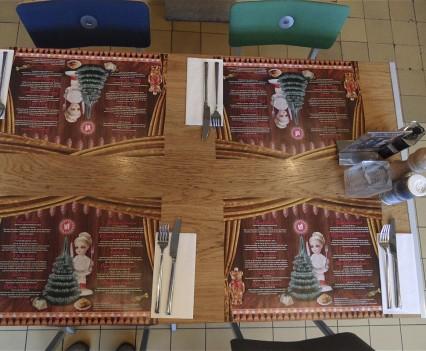 2012, kerstplacemats