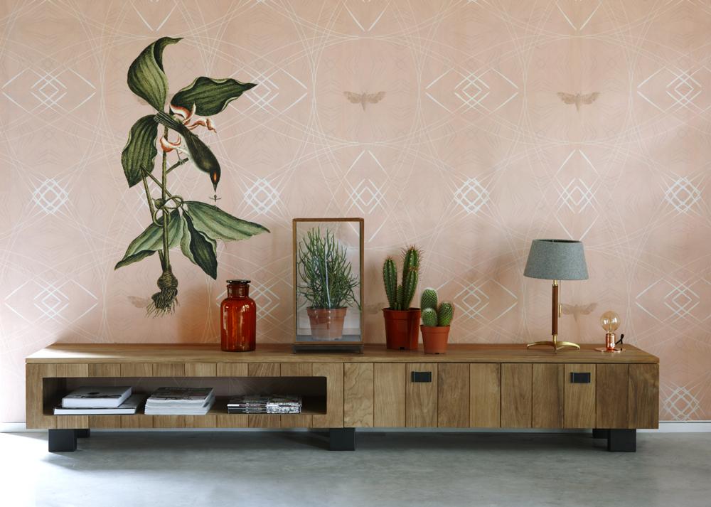Idee dressoir roze afbeeldingen : Flowerbird in pink | Saskia van der Linden